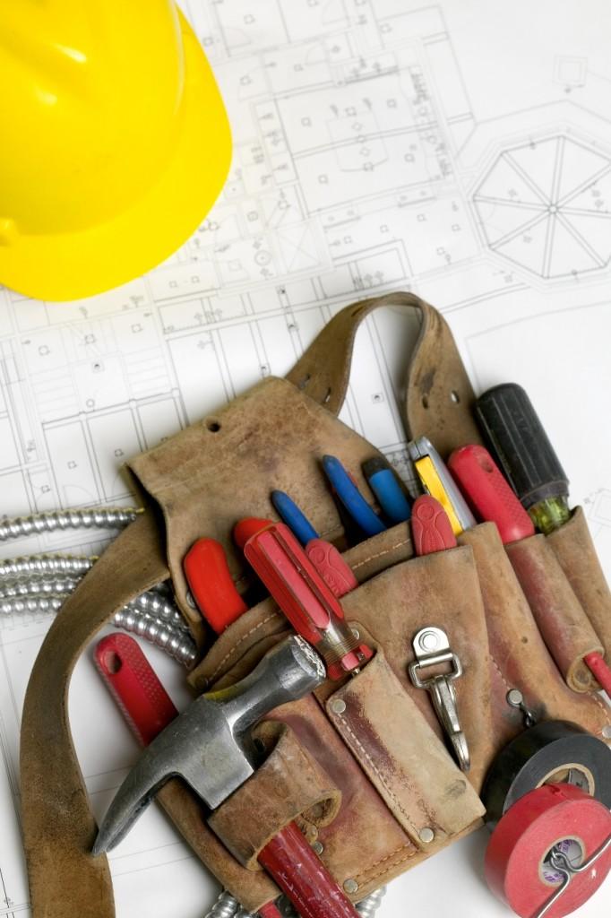 electricians tool belt